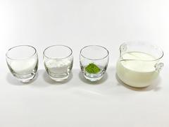 抹茶ミルク餅(材料)