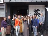 MatchaBar来社MBC南日本放送「てゲてゲ」撮影7