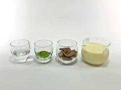 抹茶チョコのホットドリンク(材料)