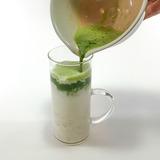 「緑茶×バナナ」ドリンクの作り方8
