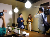 MatchaBar来社MBC南日本放送「てゲてゲ」撮影3