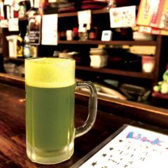"""""""知覧茶ビール""""が飲める店『立ち呑み どん』"""