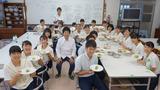 日本茶の楽しみ方・鹿児島南高校10