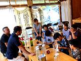 2019.08 奄美高校「高校生レストラン」日本茶監修6