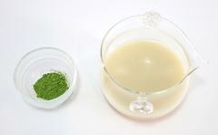 抹茶×甘酒HOTドリンク(材料)