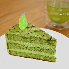 〈不二家洋菓子店〉濃い抹茶のケーキ