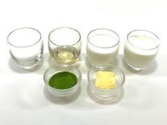 抹茶生キャラメルの作り方(材料)