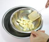 抹茶チョコフォンデュ・作り方1