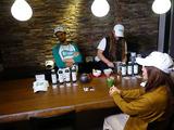 MatchaBar来社MBC南日本放送「てゲてゲ」撮影5