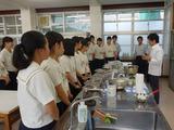 日本茶の楽しみ方・鹿児島南高校04