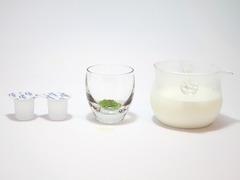 抹茶わらびモチモチラテの作り方(材料・抹茶ラテ)