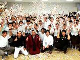 2019.08 奄美高校「高校生レストラン」日本茶監修3