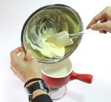 抹茶チョコフォンデュ・作り方2
