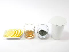 煎茶レモネードの作り方(材料)