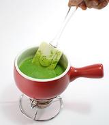 抹茶チョコフォンデュ・作り方4