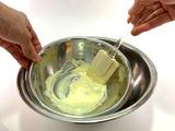抹茶×ホワイトチョコのムースの作り方01