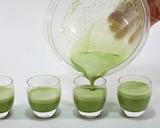 抹茶クリームプリン(作り方3)