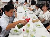 日本茶の楽しみ方・鹿児島南高校09
