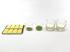 抹茶トリュフの作り方(材料)