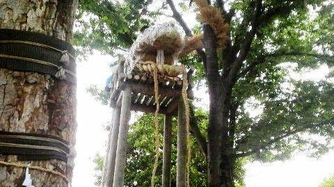 安行原の蛇祭り