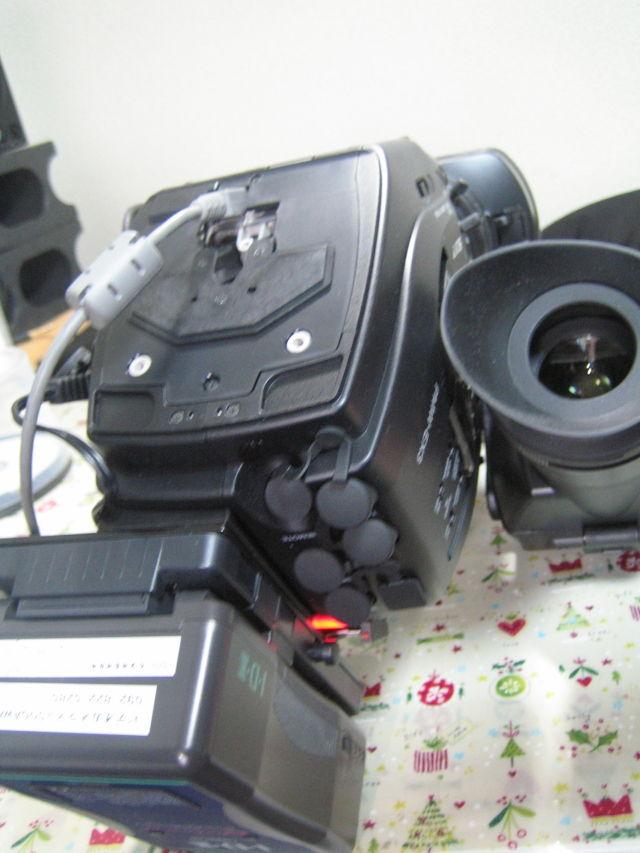 ビデオカメラXDCAM EX-3