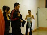 TKFM Risa Juna before class