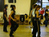 risa in dance class