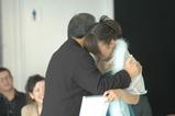yuka receiving diploma