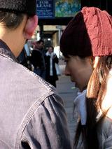 r & y looking into camera - juri