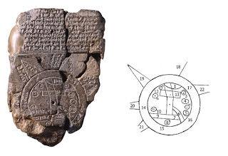 バビロニア地図