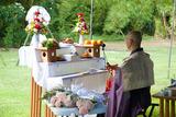 マンガン山ローカル慰霊祭