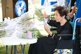 フォンテヒル日本軍慰霊祭清水さん大阪市90歳