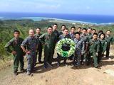 2月航空自衛隊員戦跡ツアー記念撮影