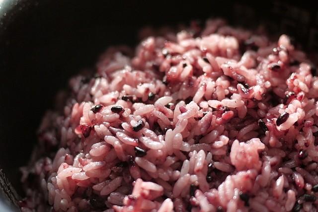黒米の炊き方