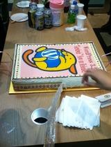 WPのケーキ