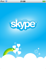 Skype in iPod touch