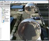 Google Earth ビューバブル
