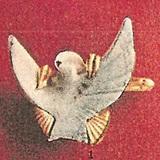 フランス/真珠貝彫刻カフス