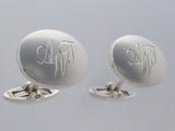 AWT手彫りカフスボタン