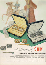 1956年SWANK広告1