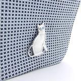 猫のカフスボタン2