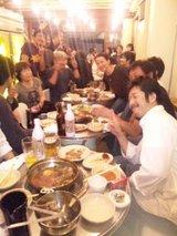 食事会の模様