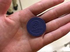 地下鉄コイン