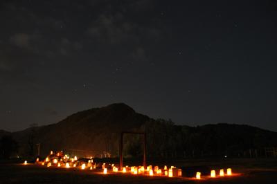 吉野閉校記念碑ランターン2009