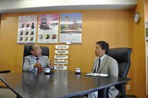 吉田会長と2009年4月1日インタビュー対談