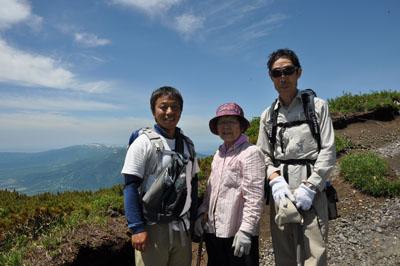 83才の羊蹄山登山