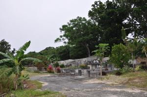 竹富島2009年3月お墓