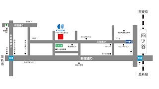 ライラック三栄ビル地図