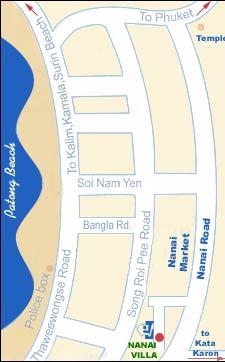 ナナイヴィラ地図