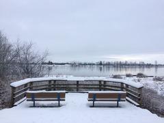 雪景色_Pitt River